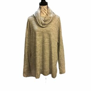 Pure Energy Sweater with gold strands 2X